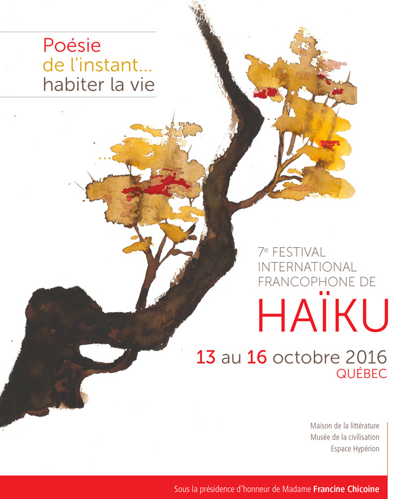 Festival international francophone de haïku - 2016